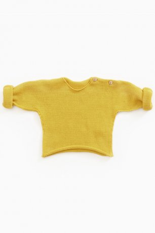 <img class='new_mark_img1' src='https://img.shop-pro.jp/img/new/icons8.gif' style='border:none;display:inline;margin:0px;padding:0px;width:auto;' />PLAY UP / Knitted LS Sweater / SEA ALMOND / 0AG11003