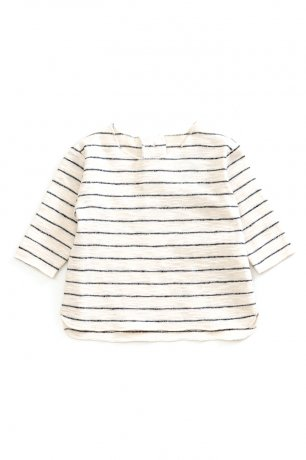 <img class='new_mark_img1' src='https://img.shop-pro.jp/img/new/icons8.gif' style='border:none;display:inline;margin:0px;padding:0px;width:auto;' />PLAY UP / Striped Rib LS T-shirt / WARP / 0AG11001
