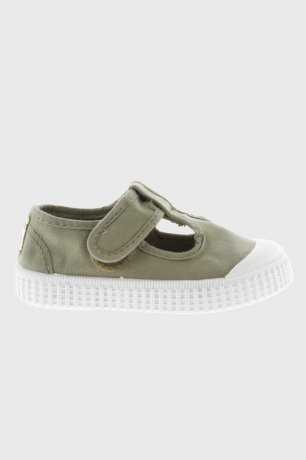 victoria / CANVAS T-STRAP SHOES 36625 / ALOE
