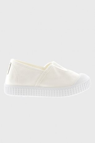victoria / CANVAS LOAFERS 366133 / BLANCO