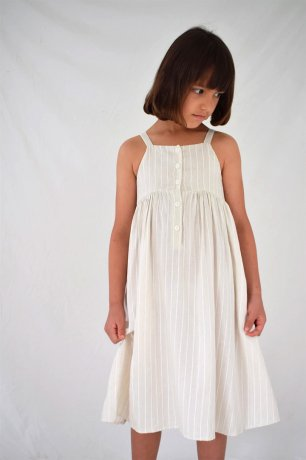 [20SS vol2] DAUGHTER / PICNIC DRESS / BIRCH WOVEN STRIPE