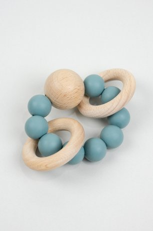 DOVE AND DOVELET / SATURN silicone teething toy / OIL