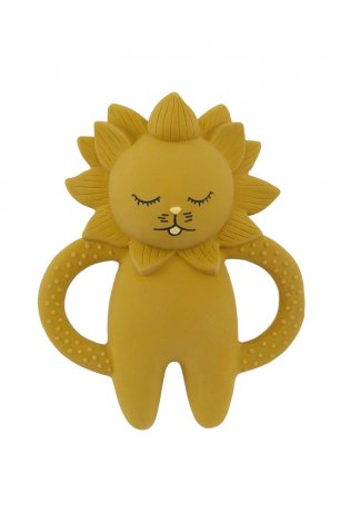 Konges Sloejd / TEETH SOOTHER LION / MUSTARD / KS1223