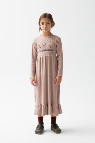 THE CAMPAMENTO / EL ULTRAMARINOS DRESS / TC-AW20-48