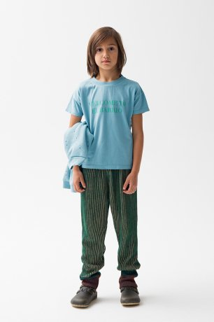 THE CAMPAMENTO / CONTRASTED KNITTED TROUSERS / TC-AW20-33