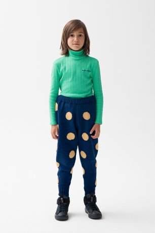 THE CAMPAMENTO / DOTS KNITTED TROUSERS / TC-AW20-32