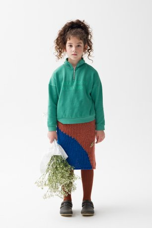THE CAMPAMENTO / KNITTED SKIRT / TC-AW20-31