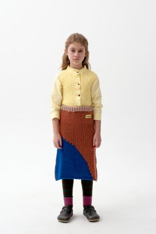 THE CAMPAMENTO / YELLOW SMOCKED SHIRT / TC-AW20-13
