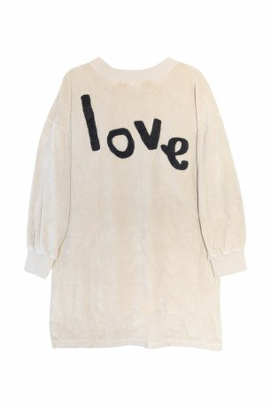 yellowpelota / Love Dress / Sand / FW20-60.2-SD02