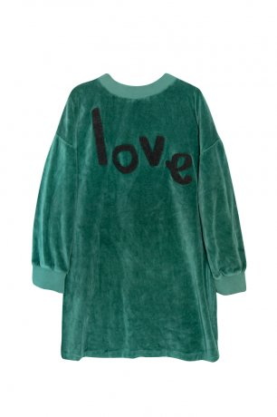 yellowpelota / Love Dress / Pacific Green / FW20-60.1-SD02