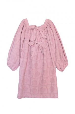 yellowpelota / Salvia Dress / Rose / FW20-35.2-VT44