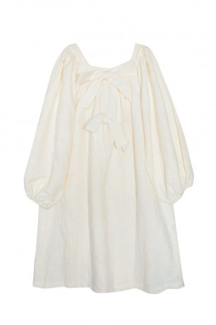 yellowpelota / Salvia Dress / Ecru / FW20-35.1-VT44