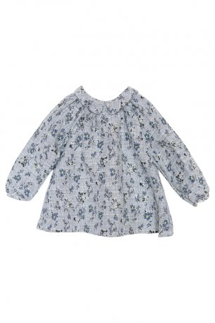yellowpelota / Bittersweet Blouse / Blue / FW20-08.1-BL54