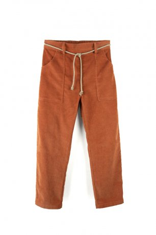 popelin / jogging bottoms / Orange / Mod.20.1