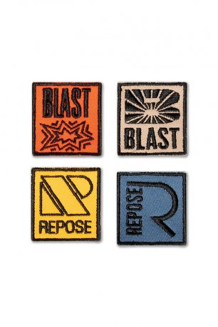 [20AW Vol.2] REPOSE AMS / BADGES / MULTI COLOR