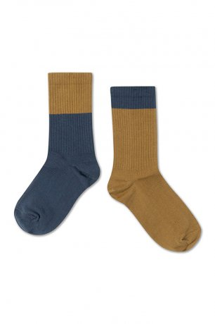 [20AW Vol.2] REPOSE AMS / SOCKS / DARK NAVY GOLDEN BLOCK