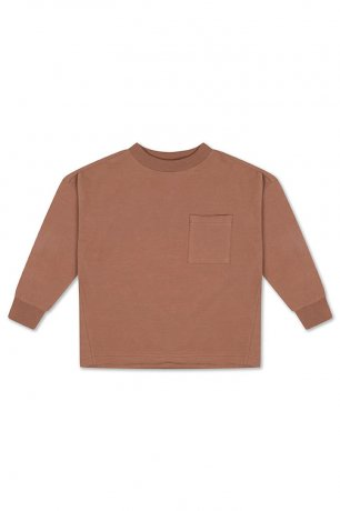 REPOSE AMS / SWEAT TEE / WARM CHOCOLAT