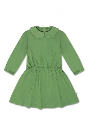 REPOSE AMS / PETER PAN DRESS / HUNTER GREEN