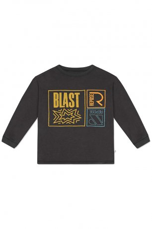 REPOSE AMS / LONG SLEEVE / CHARCOAL