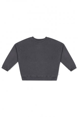 REPOSE AMS / CREWNECK SWEATER / CHARCOAL