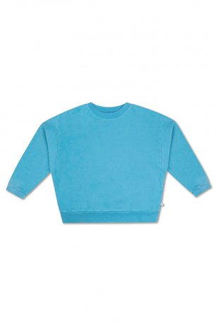 REPOSE AMS / CREWNECK SWEATER / BRIGHT SKY BLUE