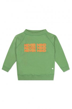 REPOSE AMS / CLASSIC SWEATER / HUNTER GREEN