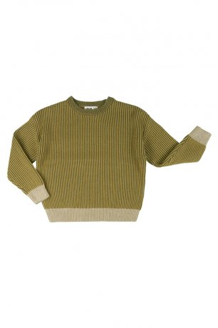 [vol.2] CarlijnQ / sweater / fir green / KNT134