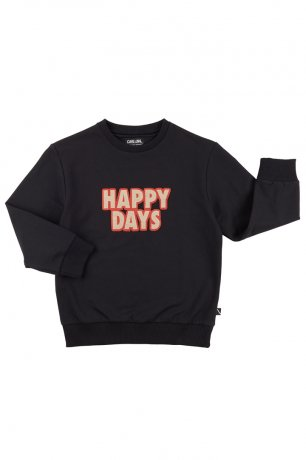 CarlijnQ / sweater + embroidery patch / happy days / HPD81