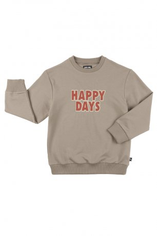CarlijnQ / sweater + embroidery patch / happy days / HPD76