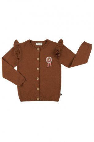 [vol.2] CarlijnQ / cardigan wings + embroidery (knit) / rosette / RZT32