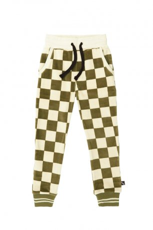[vol.2] CarlijnQ / sweatpants with cuffs / checkers / CKR09