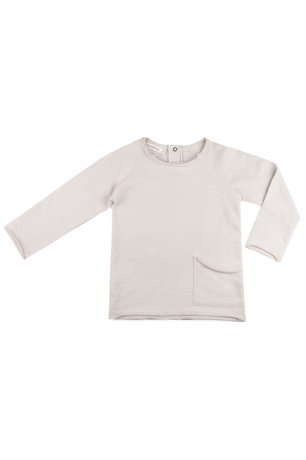 Phil&Phae / Raw-edged sweater / 663111 / Oatmeal