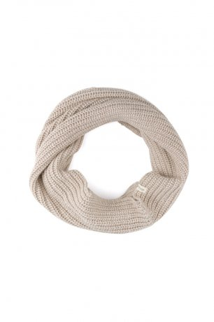 [vol.2] Phil&Phae / Cashmere-blend infinity scarf / 203603 / straw