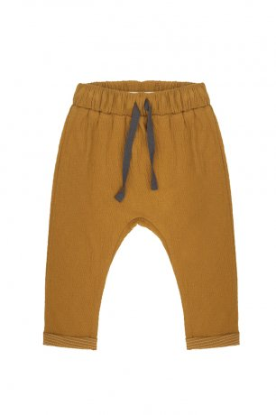 Phil&Phae / Textured baby pants / 203216 / golden olive