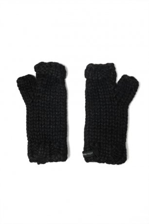 little creative factory / Couplet Mittens / Black / K101
