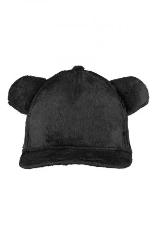BEAU LOVES / Teddy Bear Fur Cap / Charcoal