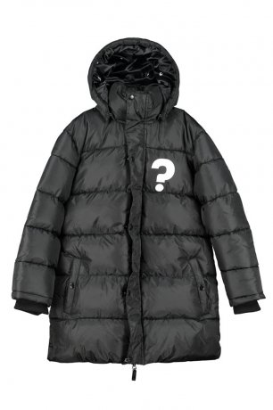 BEAU LOVES / Loves Long Line Puffa Coat / Black