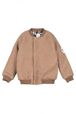BEAU LOVES / Wool Bomber / Sandstone
