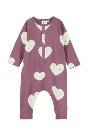 BEAU LOVES / Baby Romper / Grape