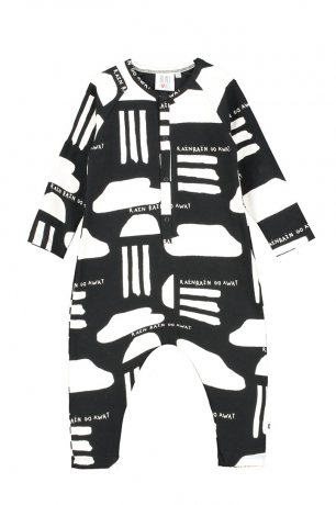 BEAU LOVES / Baby Romper / Black