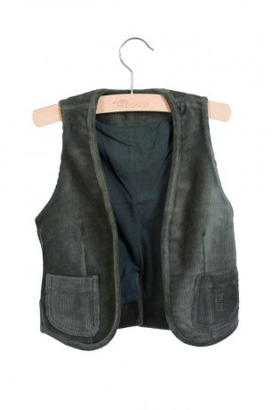 little HEDONIST / Gilet Matty / Pirate Black