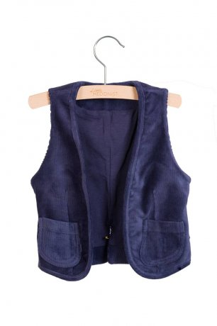 little HEDONIST / Gilet Matty / Night Blue