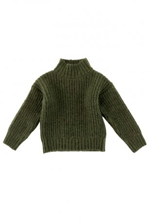 Liilu / Adult / Knit Pullover / Olive green