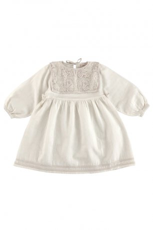 Liilu / Folk Emma Dress / Milk [6y 8y]