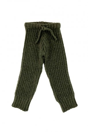 Liilu / Knit Trousers / Olive green
