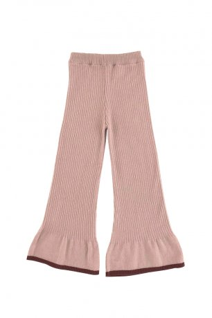 Liilu / Ida Knit Pants / Old rose