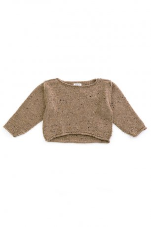 PLAY UP / Tricot Sweater / OREGON PINE / 4AH11354