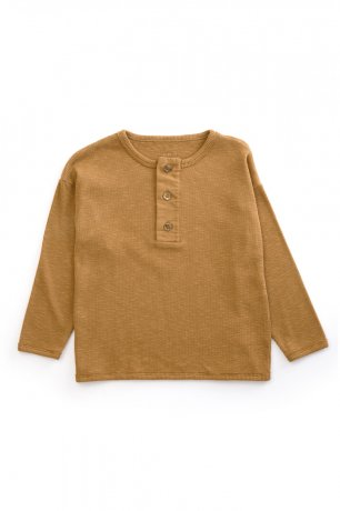 PLAY UP / Rib Sweater / OREGON PINE / 3AH10901