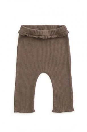 PLAY UP / Rib Leggings / WALNUT / 2AH11651