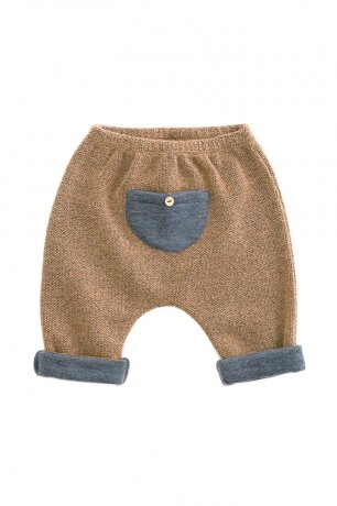 PLAY UP / Recycled Plush Trousers / CHERRY TREE / 2AH11601